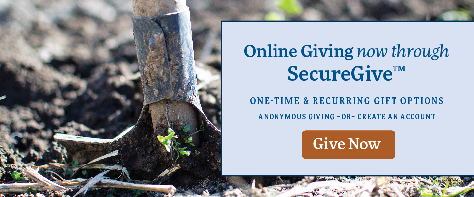 Online Giving through SecureGive