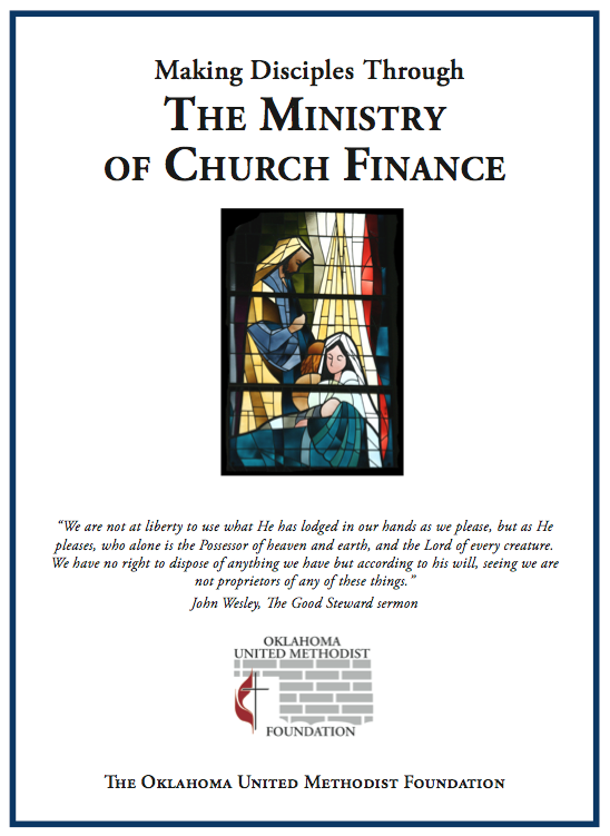 Ministry of Church Finance Booklet
